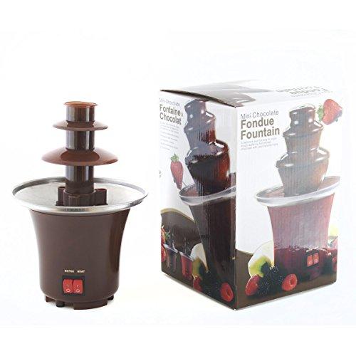 Schokoladenbrunnen Schokofondue Schokoladenfondue-Set Schokoladenfontaine Schokoladenfondue