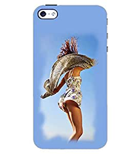 PrintDhaba SEXY GIRL D-6328 Back Case Cover for APPLE IPHONE 4S (Multi-Coloured)