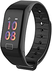 WEARFIT F1 Plus Color Screen Sports Smart Blood Pressure Heart Rate Monitor Smart Band