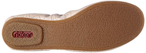 Rieker 41465 Women Closed Toe - Ballerine Donna Rosa (rose/31)