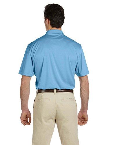 HARRITON M353Herren Double Mesh Sport Shirt Hellblau