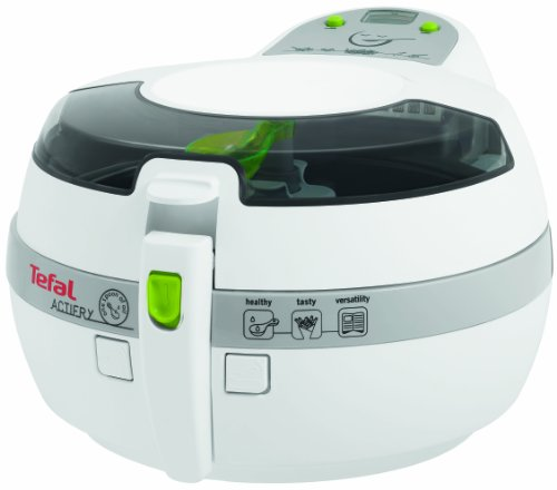 Tefal FZ707020 deep fryer - deep fryers (Single, Grey, White, ActiFry, Buttons)