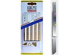 5St U-Schaft UHC32 Holz Stichsägeblätter lang auch für Trenn-Biber als Laminatschneider geeignet