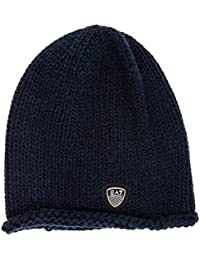 Emporio Armani EA7 gorro de mujer sombrero nuevo mount urban 1 blu