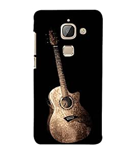 PrintVisa Standing Guitar For Music Lovers 3D Hard Polycarbonate Designer Back Case Cover for LeEco Le 2 Pro :: LeTV 2 Pro