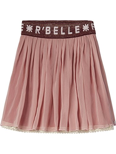 Scotch R'Belle Mädchen Rock Double Layer Voile Skirt with Special Waistband, Rosa (Dusty Rose 494), 116 (Herstellergröße: 6)