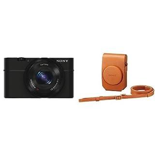 Sony DSC-RX100 Fotocamera Digitale Compatta con Sony LCS-RXG Custodia Morbida in Pelle marrone (B0171ULKJG) | Amazon price tracker / tracking, Amazon price history charts, Amazon price watches, Amazon price drop alerts