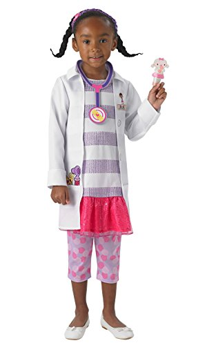 Rubie's it610382-s - dottoressa peluche deluxe costume, taglia s