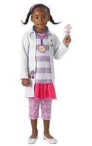 Rubies 610382TODD Disfraz Oficial de Doctora McStuffins para niños, niños (Edad 2-3 años, Altura 98 cm)