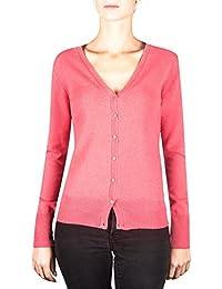 CH 100% Kaschmir Damen Pullover Cardigan V-Ausschnitt   Strickjacke 133200ba24