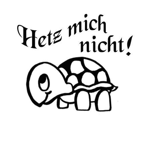 (Autoaufkleber Schnecke Schildkröte Auto Aufkleber ca.30x20cm Heckscheibe M1)