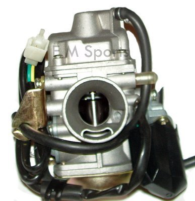 Gy6 Gas Scooter Bike Moped Engine Carburetor 125cc 150cc by N/A