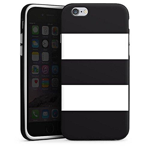 Apple iPhone SE Housse Outdoor Étui militaire Coque Noir et blanc Motif Motif Housse en silicone noir / blanc