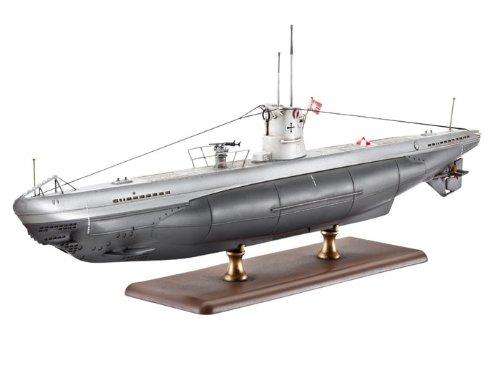 Revell 05115 - Modellbausatz - U-Boot Typ IIB, Maßstab 1:144