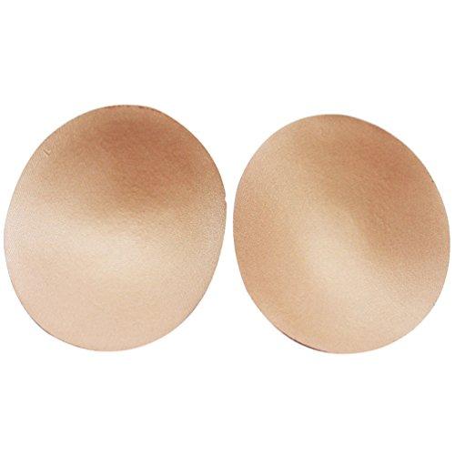 Smart-gorge de sport Inserts Sous-vêtements assortis Portable éponge Chest Pads. teint Round