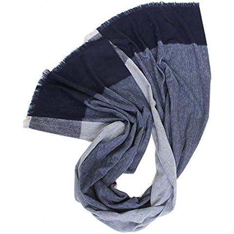 Scialle Cashmere maglia lana velluto Plaid coperta pianura caldo sciarpa addensare paragrafo spalla donna a spalla per andare fuori freddo abbigliamento accessori , gray