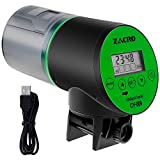 Zacro Automatisierte Futterspender für Fische Aquarium Futterautomat 200ml große Kapazität