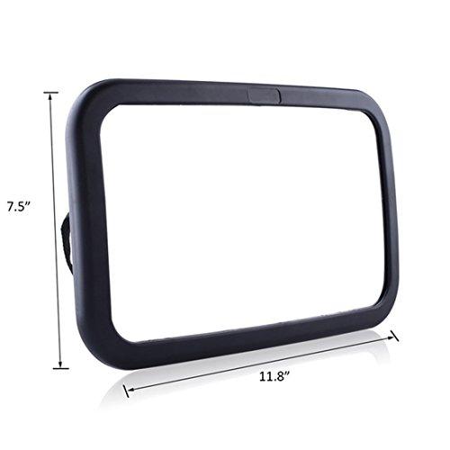 Miroir auto b b pluiesoleil avez une rotation 360 100 for Miroir acrylique incassable