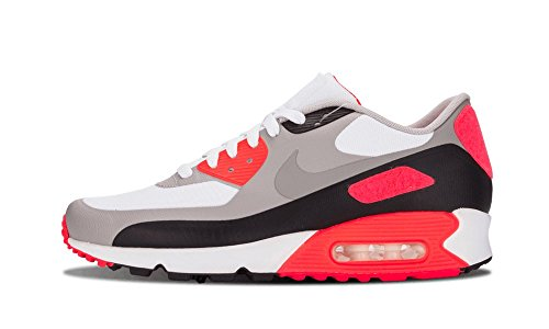 417C3hIEerL - Nike Mens Air Max 90 Infrared Patch SP White Infrared Trainer