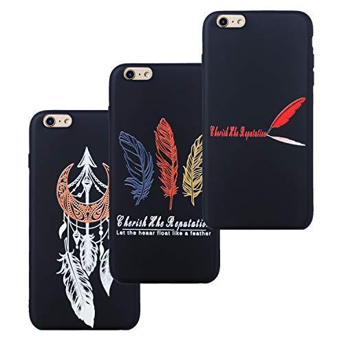 c72057a4f59 LeviDo 3X Funda iPhone 6 Plus/iPhone 6S Plus Silicona Bumper Caucho Caso  TPU Delgado