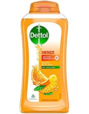 Dettol Body Wash and shower Gel, Energize - 250ml