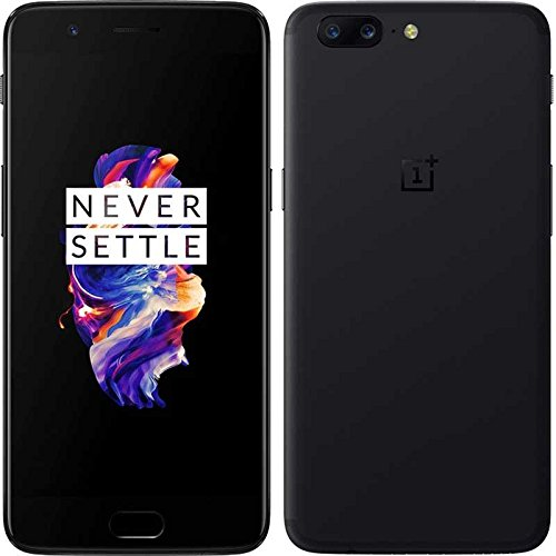 "OnePlus 5 4G 128GB Grey - Smartphones (14 cm (5.5""), 128 GB, 16 MP, Android, 7.1.1, Nougat/Grigio"