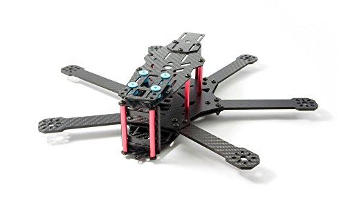 MissBirdler Hexacopter Hexa Kit Cadre en Fibre de Carbone pour FPV Flying, Quad Racing, Los, FPV-Racing 290 mm