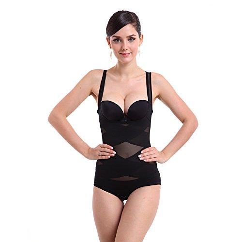 Shapewear body shaping da donna traspirante corsetto corpo suit recupero snellente body shaper corpetto