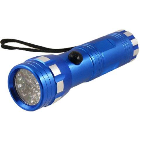 Royal Blau Aluminium Shell 14LEDs Taschenlampe für Camping