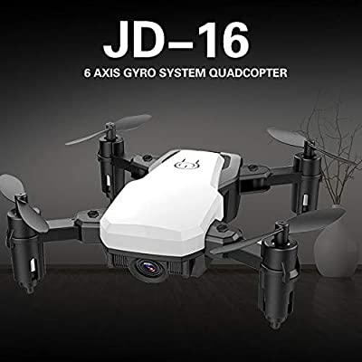 KD New drone mini folding aerial shooting four-axis vehicle JD-16 real-time transmission gesture photo Video drone shooting at high altitude