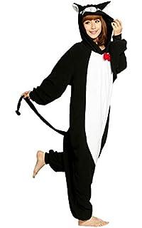 Size S Unisex Fancy Dress Overall Katara 1744 Funny Bat Pyjamas For Slumber Parties or Birthdays