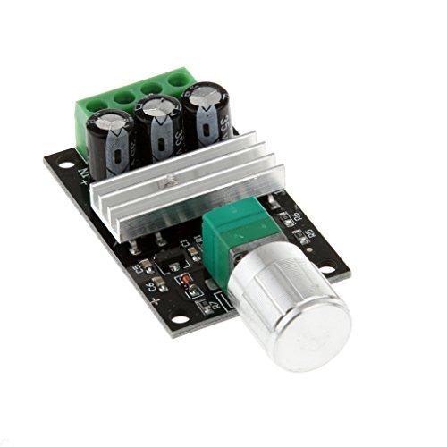 Preisvergleich Produktbild MagiDeal PWM DC 6V 12V 24V 28V 3A 80W Motor Speed Motordrehzahl Varible Control Switch Controller Steuerschaltersteuerung