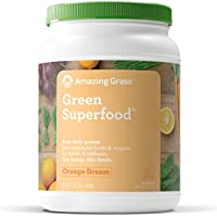Amazing Grass Green Superfood Orange Dreamsicle, 100 Servings, 28.2 Ounces