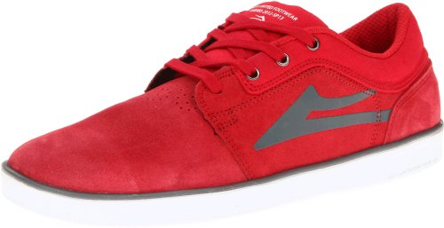 Lakai HOWARD MS113-0007-B00, Herren Sneaker, Rot (RED SUEDE A0600), EU 41 (UK 7) (US 8) (Skateboard Lakai Schuhe)