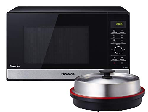 Panasonic NN-GD38HSGTG Kombi-Mikrowelle mit Grill und Dampfgarer / Steamer /...