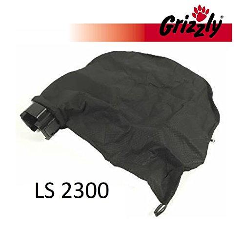 Grizzly Sac collecteur avec support pour Powerplus POW63150Aspirateur à feuilles électrique Grizzly LS 2300