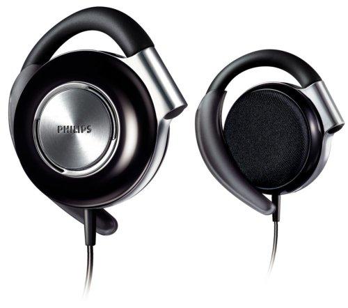 3. Philips Adjustable Earclip Headphone