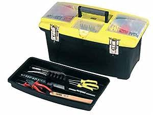 Stanley 1-92-908 Boîte à outils avec plateau Jumbo 56 cm