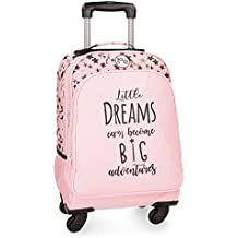 Roll Road Dreams Pink Mochila Escolar, 44 cm, 29.57 litros, Rosa