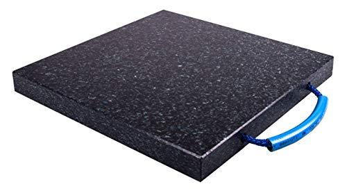 Preisvergleich Produktbild RZ-Handel / Hoch belastbare Stützplatte / Abmessungen: 500x500x30mm / Mit einer Tragfähigkeit bis zu 12t / Mit stabiler Handschlaufe / Abstützplatten aus deutscher Herstellung / Kranplatten
