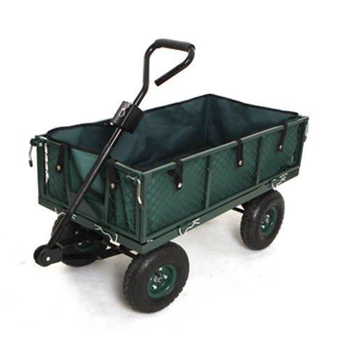 ZNL Transportkarre Gartenwagen Gerätewagen Sackkarre Stapelkarre Bollerwagen Handwagen 350KG TC-01