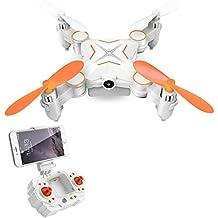 GordVE GV01 Mini faltbare RC Drone FPV VR Wifi RC Quadcopter Fernbedienung Drone mit HD 720P Kamera-RC Hubschrauber-Orange