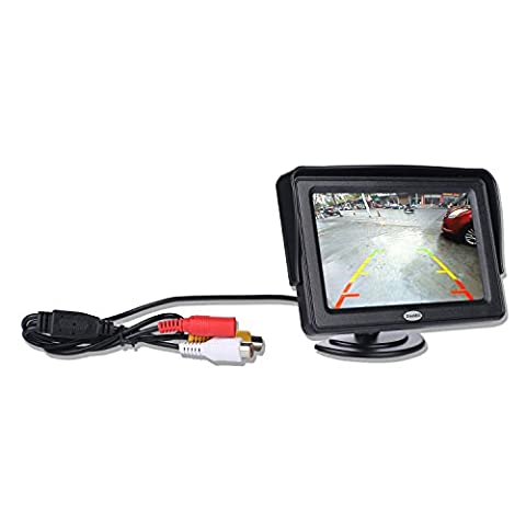 10,9cm Zoll tragbar drehbar TFT LCD Color Monitor für Auto