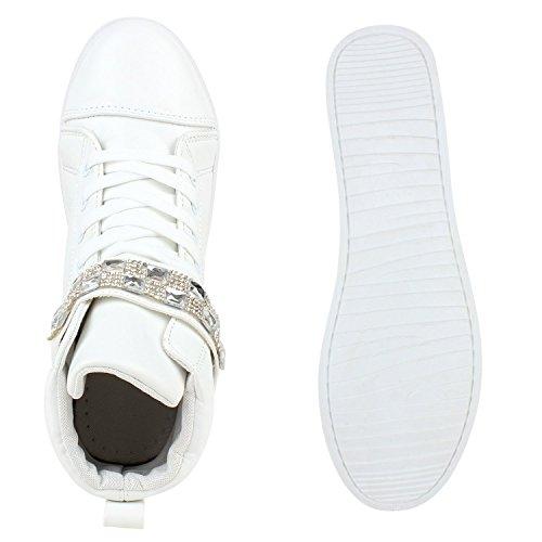 Japado , chaussures compensées femme Blanc - Blanc