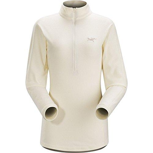 Arc'teryx Delta LT Zip Pullover Women Vintage Ivory Größe XL 2017 Midlayer Arcteryx Womens Pullover