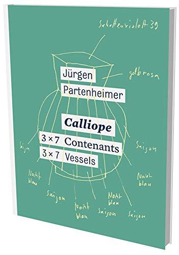 Jürgen Partenheimer : Calliope: Cat. Musée Ariana Genève - Ariana Sammlung