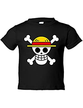 Camiseta niño One Piece logo