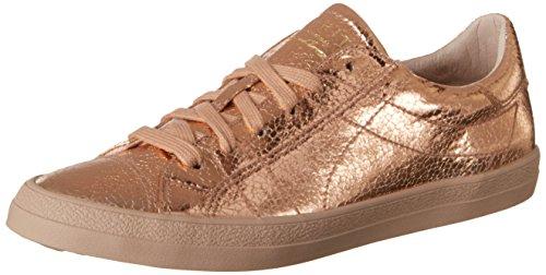 ESPRIT Women's Miana Lace up Low-Top Sneakers, Beige (Dusty Nude), 4 UK