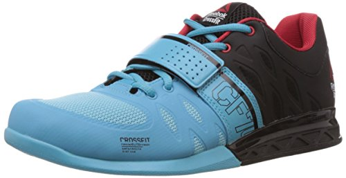 446baba3899e22 Reebok m45048 Men S R Crossfit Lifter 2 0 Neon Blue Black And Red Rush  Training Shoes 10 Uk- Price in India