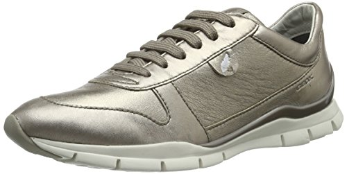Geox D Sukie A, Baskets Basses Femme, Gold (Champagnecb500), 37 EU